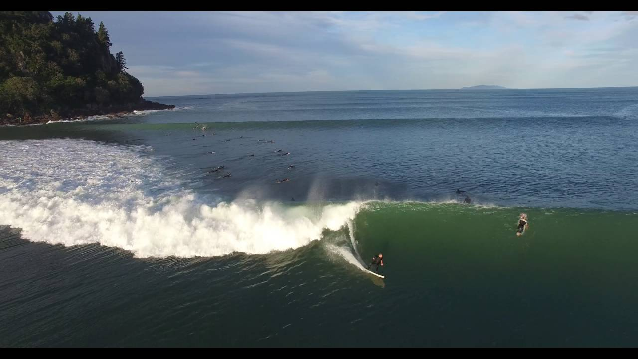 Easter Wallpaper Hd Whangamata Best Ever Surf Caught On Drone Youtube