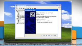 Device Manager error code 31 in Windows® XP