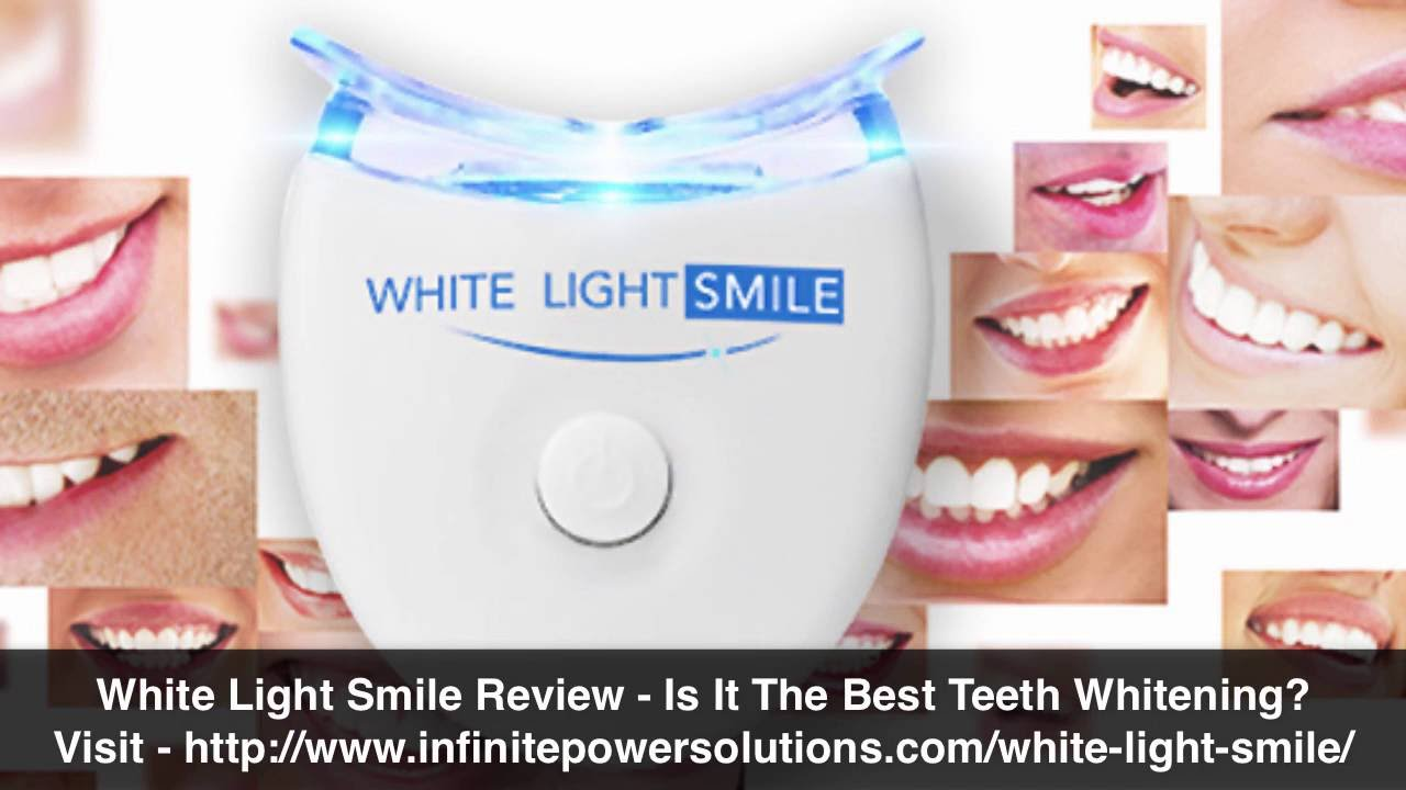 White Light Smile Review Top Teeth Whitening Led Technology