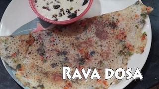 Rava dosa recipe in telugu by Amma Kitchen- Latest Indian Recipes easy metod