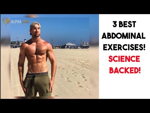 The 3 Best AB Exercises For A SIX PACK | SCIENCE BACKED!