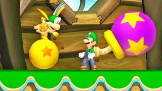 New Super Luigi U: Tô Tirando Onda de Yoshi Amarelo