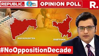 The Biggest Opinion Poll, Heading To 'Oppn Missing Decade'? | The Debate With Arnab Goswami