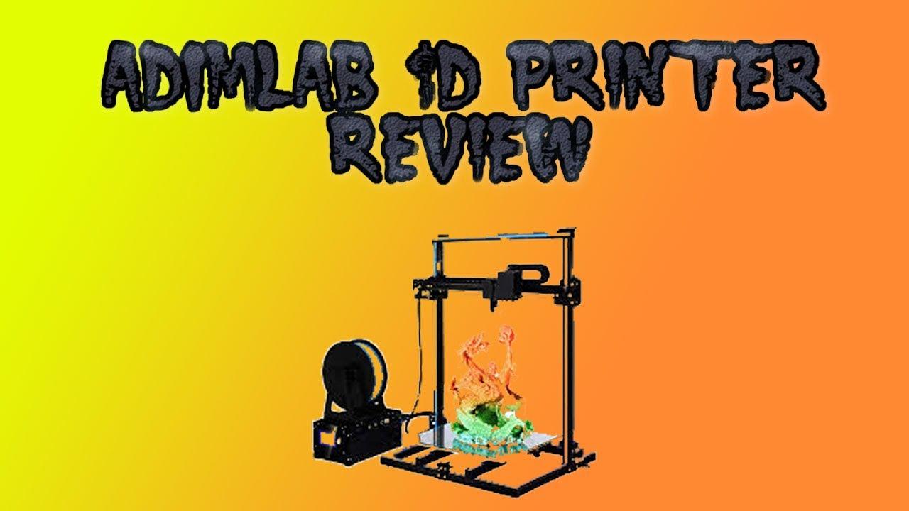 ADIMLab 3D Printer Review