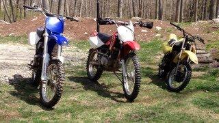 My dirt bikes