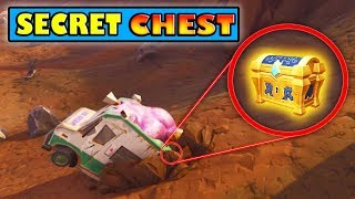 Secret Chest 'FOUND' dans Dusty Divot! Fortnite Bataille Royale