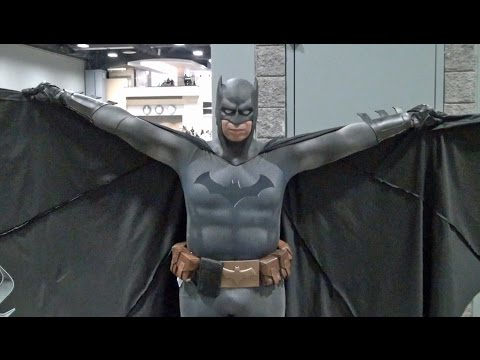 BATMAN Cosplay at Awesome Con