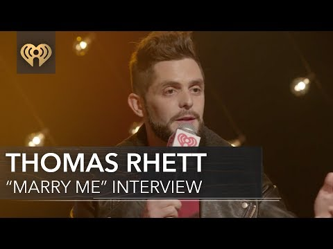 Thomas Rhett Marry Me is NOT a Wedding Sg  iHeartCountry Album Release Party