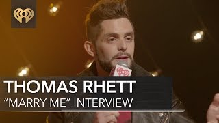 Thomas Rhett 34 Marry Me 34 Is Not A Wedding Song Iheartcountry Album Release Party