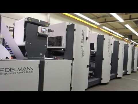 EDELMANN Printing Machines - Evo-Print V52