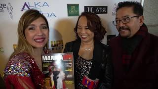 INTERVIEW WITH HOLLYWOOD JOURNALISTS, MR. & MRS. RUBEN & JANET R. NEPALES