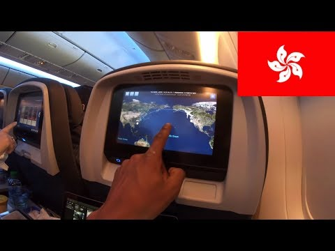 United Airlines 14 hour flight San Francisco to Hong Kong Flight report!