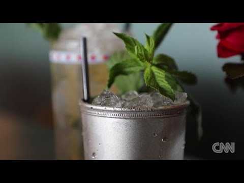 CNN: Mint Julep-Sterling tradition served in silver
