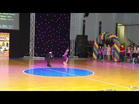 Dance Studio Expose Bitola - Open Latin Show Duo Children - Macedonia Open 2017