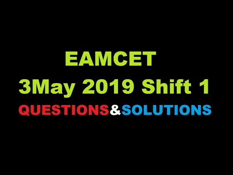 EAMCET 3rd May