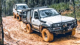 Troopy Tests the MAXXIS RAZR's   Our Slipperiest Track Yet!!   Livin 4x4