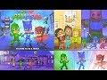 Pijamaskeliler puzzle oyunu oynuyoruz Baykuş Kız Kertenkele Kedi Çocuk ile PJ Masks Puzzle challenge