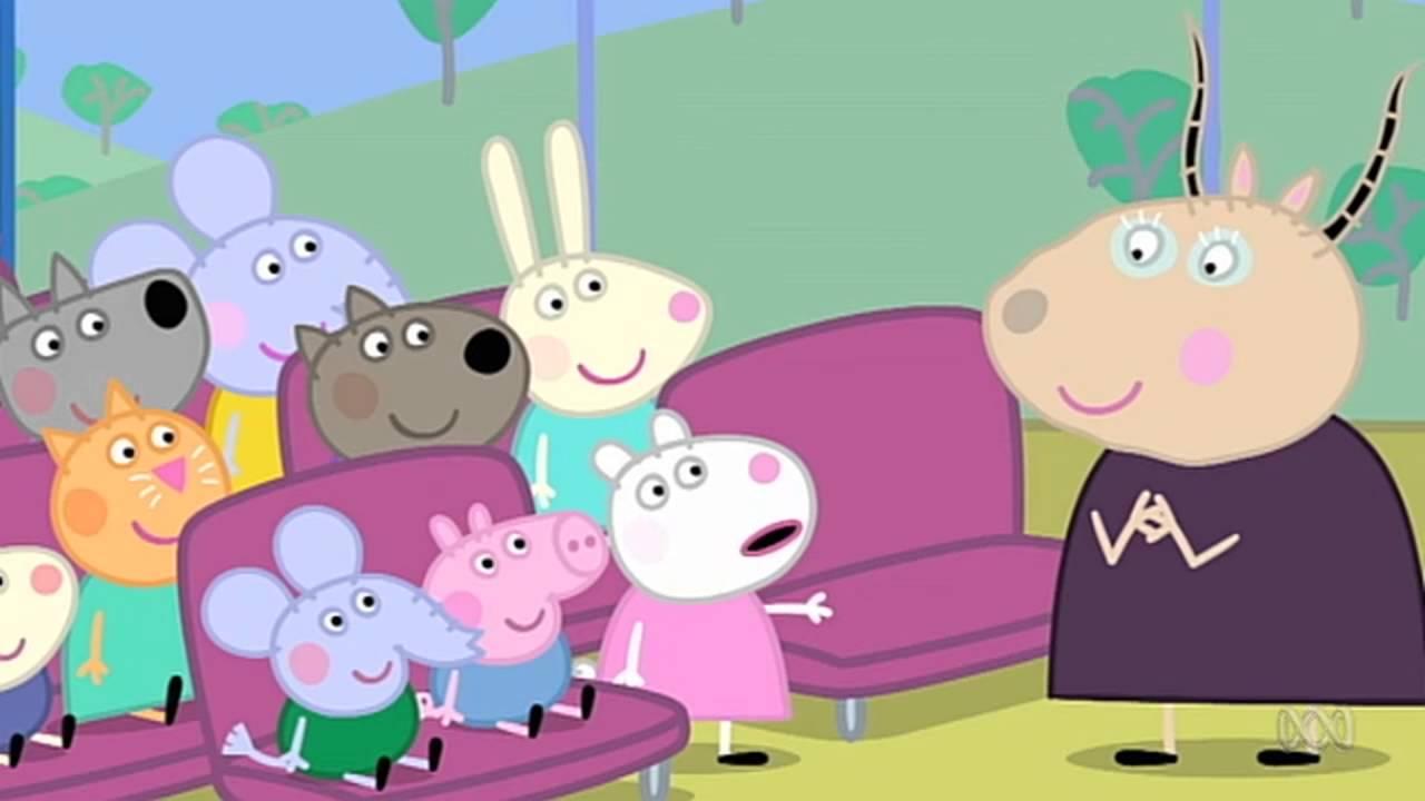 Peppa Pig - Pedro is Late (41 episode / 4 season) [HD]