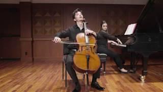 """Gabriel Martins plays Boccherini - Cello Sonata """"L'Imperatrice"""", Mvt. I"""