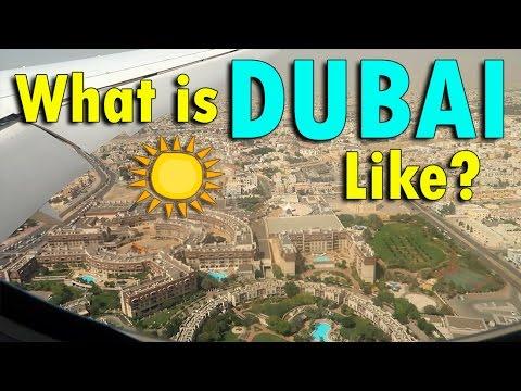 WHAT IS DUBAI LIKE? | April 23rd, 2017 | Vlog #92