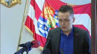 Sjednica skupštine Varaždinske županije 15. veljače 2018.
