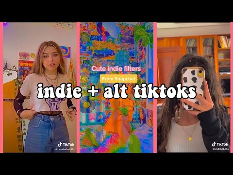 🌱🌈🍄indie kid aesthetic + alt tiktok compilation pt. 2🍄🌈🌱