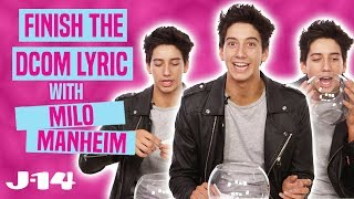 Milo Manheim Plays Finish The DCOM Lyric — ZOMBIES, Descendants, and More!