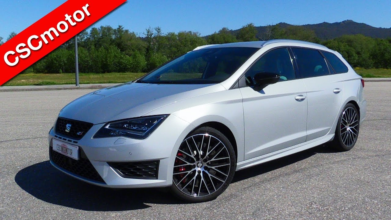 seat leon st cupra 2016 revisi n y encendido youtube. Black Bedroom Furniture Sets. Home Design Ideas