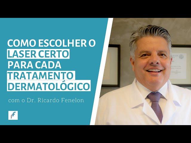 Como escolher o laser certo para cada tratamento dermatológico