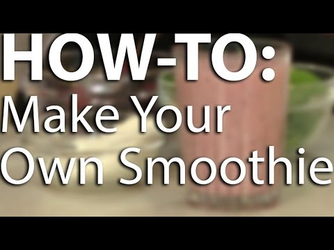 How to make a good healthy banana smoothie with milk