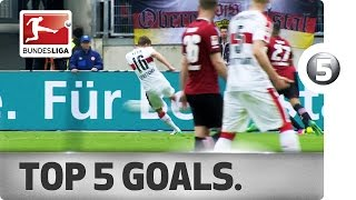 Super Solo, Zidane Skills and More - Top 5 Goals on Matchday 31