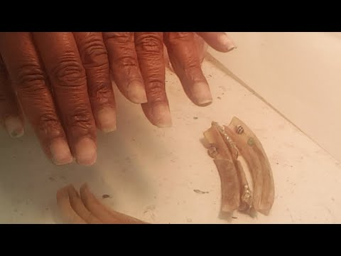 Reattachment Of Long Nails Updated Video