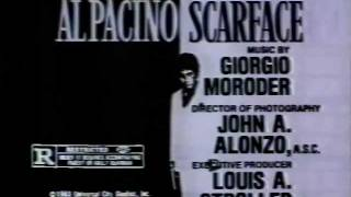Scarface 1983 TV trailer