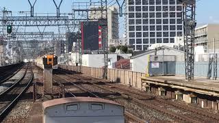 [トップナンバー同士‼️]近鉄12400系 NN01編成+近鉄22600系 AF01編成(特急名古屋行き)今里駅  通過‼️