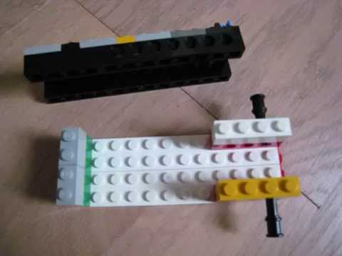 How to make a lego gun magazine - YouTube