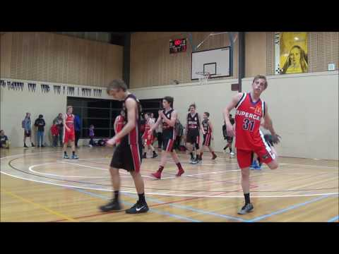 Matthew Collins #20 Ballarat tournament   Geelong Supercats vs Keilor Thunder 2015