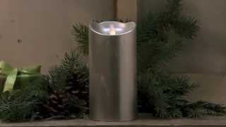 """50573 7"""" Silver Dazzler Candle Thumbnail"""