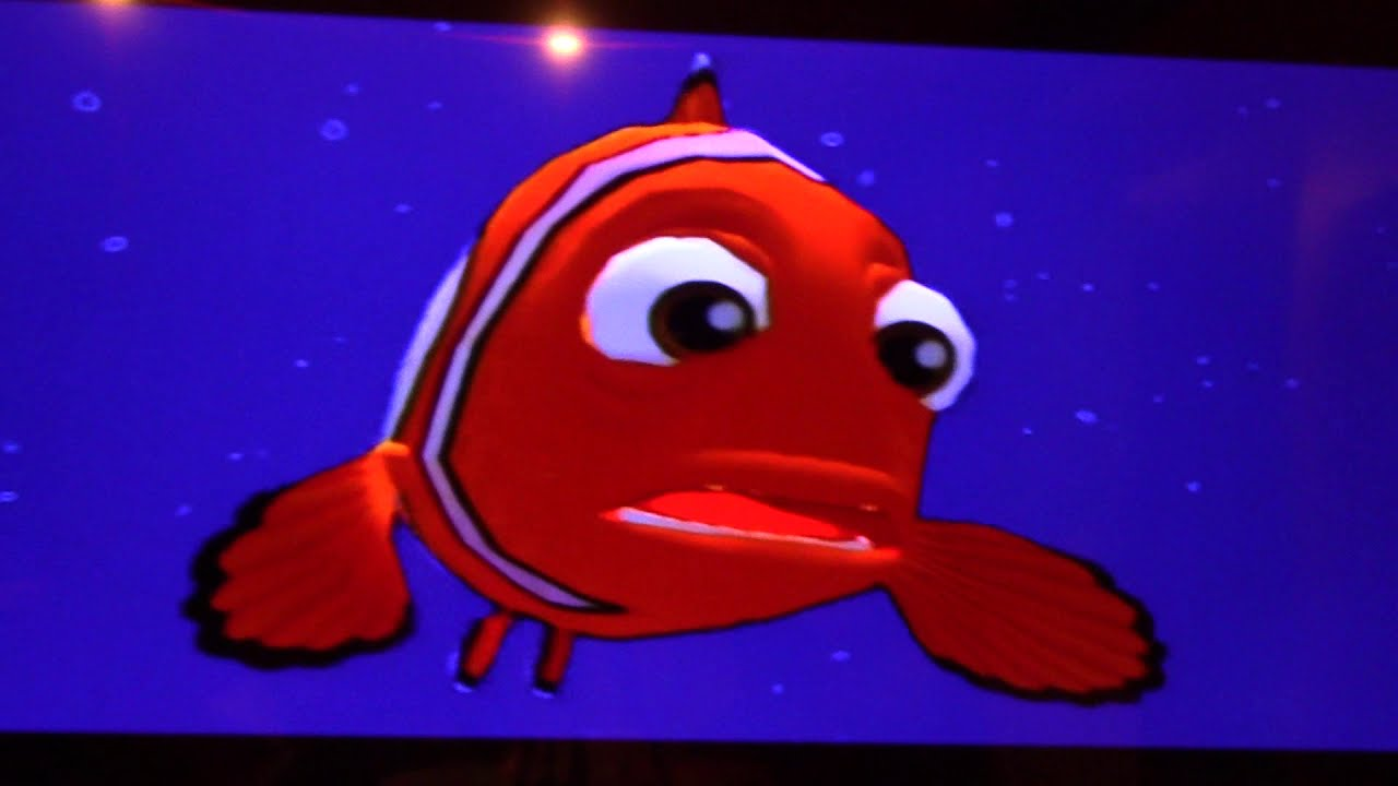 Finding Nemo PS2 Fail Cutscenes
