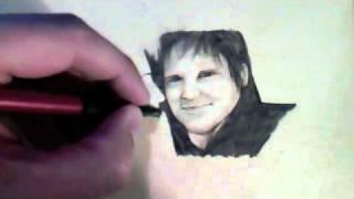 For Ted and LeeAnn Dekker (Timelapse Pencil Sketch)