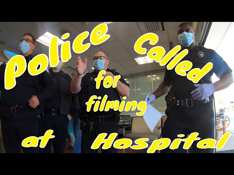WOW POLICE CALLED Forsythe Hospital 1st amendment audit