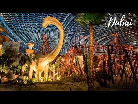 VLOG#08 OMG! IMG Worlds of Adventure Dubai | Largest Indoor Theme Park in Dubai | Ruxit Forever