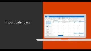 Import Gmail calendars into Outlook