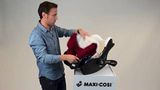 Maxi-Cosi l CabrioFix car seat l How to remove the cover