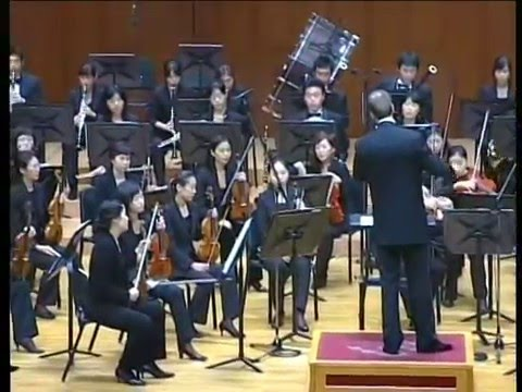 PIOTR BORKOWSKI conducts A. DVORAK - SYMPHONY No. 8, G MAJOR, 1st movement