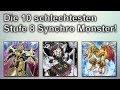 Yu-Gi-Oh! | Top 10 Schlechteste Stufe 8 Synchro Monster!