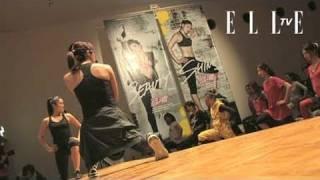 【ELLE TV JAPAN】エル・ブロガーがトレーニングに燃えた夜