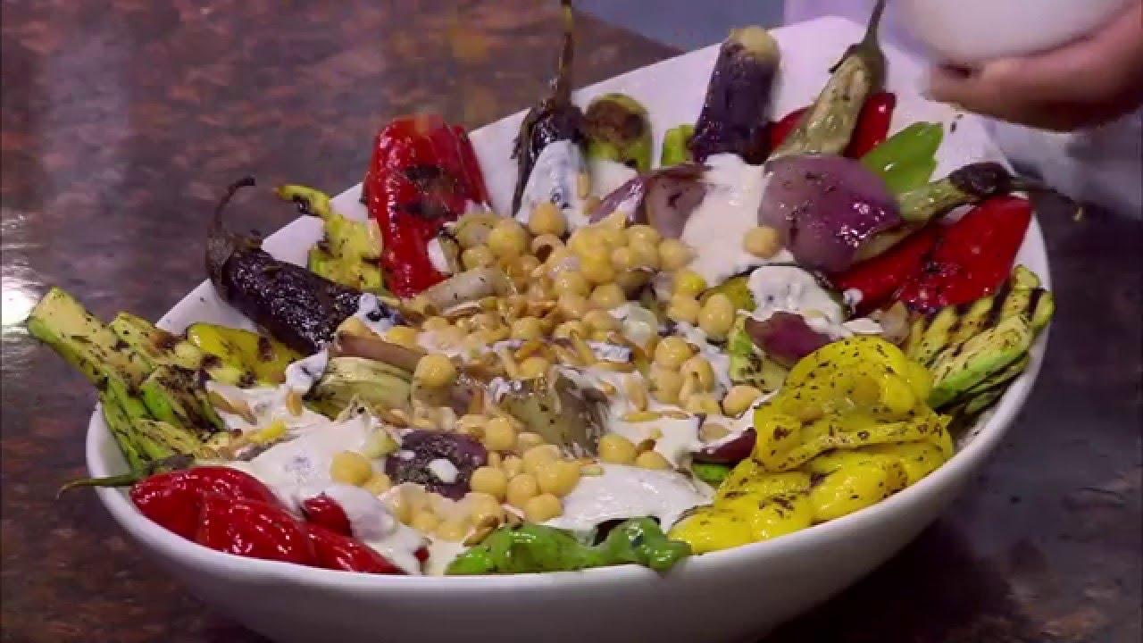 فتة خضروات مشوية - خضار تورللي في القرع - خضار مشوي : من مطبخ أسامة حلقة كاملة