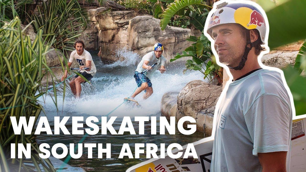 Wakeskating South Africa's Iconic Durban Beachfront