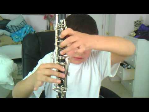 1812 oveture  gabe on clarinet