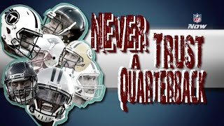 Quarterbacks Can't Be Trusted in Fantasy (Campaign Ad Parody) | NFL